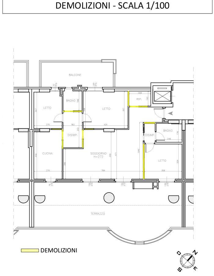 Ristrutturazione-appartamento-di-pregio-zona-Torrino-Roma--demolizioni