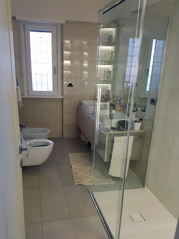 Ristrutturazione appartamento in zona torrino eur roma for Appartamento design roma