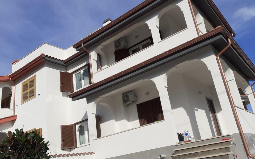 Ristrutturazione esterno villa ad Anzio